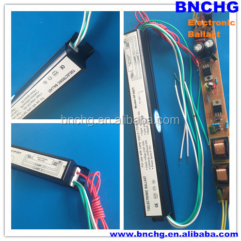 high quality T5 fluorescent lamp 2x36w electronic ballast