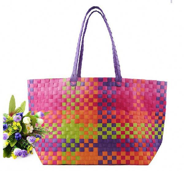 Fashionable tote bag promotional chevron