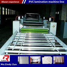 simple structure and high capacity gypsum ceiling board machine manufacturer/pvc laminated gypsum tiles production line