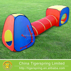 Three in one kids set camping tent toy