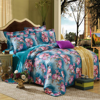 2015 Hot New design Luxury jacquard damask bedding set / home textile