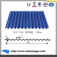 High quality full hard color coated sheet metal roofing cheap