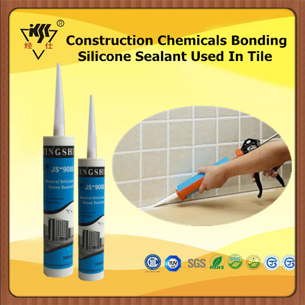 Construction Chemicals Bonding Silicone Sealant For Tile