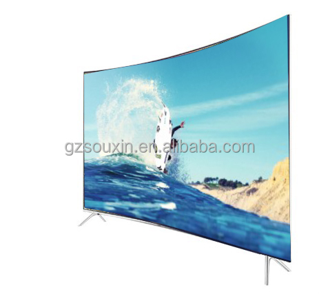 Smart 55 inch curved screen television 4K full hd 3D TV with curved panel TV good quality cheap price