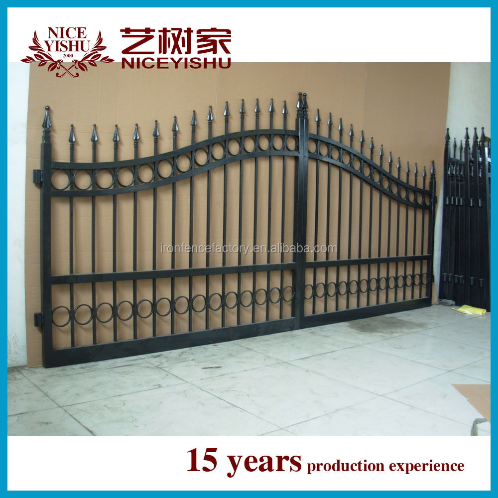 Latest main gate designs iron gate design sliding iron for Latest main gate designs