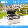 Alibaba Chinese Supplier Stainless Metal Industrial Gas Barbeque Grill