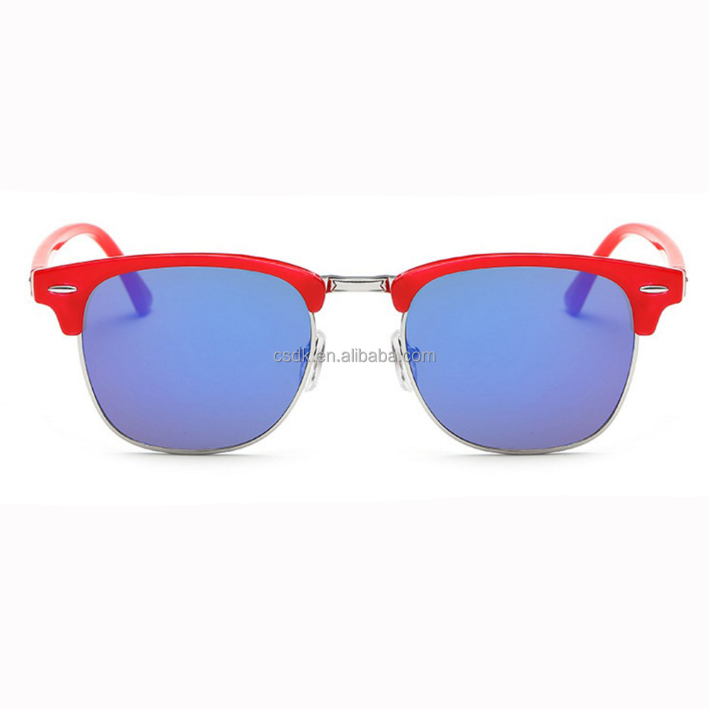 2017 custom Top Quality Fashion Plastic Unisex custom clubmaster sunglasses