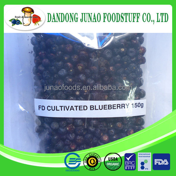 Freeze dried Blueberry Freeze dried fruits and vegetables