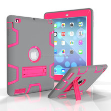 3 in 1 Shockproof Heavy Duty Hard Case For lg g pad 2 Rugged Hybrid Kickstand Armor