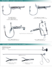 ENT Hospital use Medical Laryngeal Instrument Anesthetic Mouth Gag with Fiber Water Nozzle
