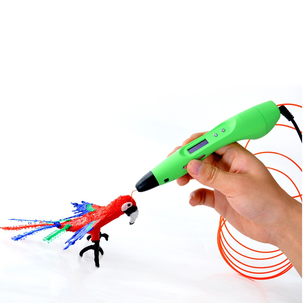 2017 Newest 3D Pen, Kids 3D Drawing Pen , 3D Printer Pen With LCD OLED Screen