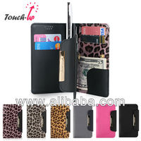 Mobile phone case cover-LEOPARD TOUCH UP WALLET for Apple iPhone, Samsung Galaxy Made in Korea