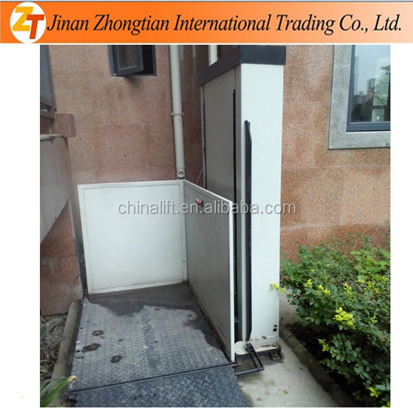 Small home elevator wit cheap price wheelchair stair lift equipment for sale