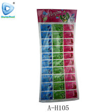 Fruit flavour tablet candy and sweet