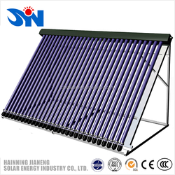 Mini Evacuated Tube Solar Thermal Collector with 12 Heat Pipe Vacuum Tubes