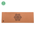 Non-slip Natural Tree Rubber Folding Cork Yoga Mat With Customized Printing