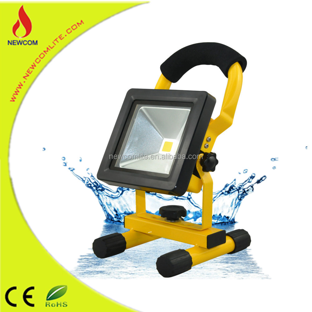 New products ce rohs saa 10w 20w 30w 50w led rechargeable working light and led floodlight