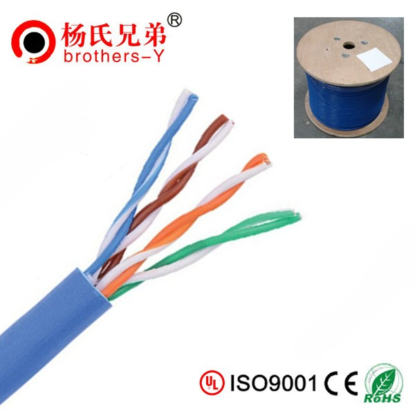 UTP/FTP cat5e lan cable 4 pair with high temperature ratings