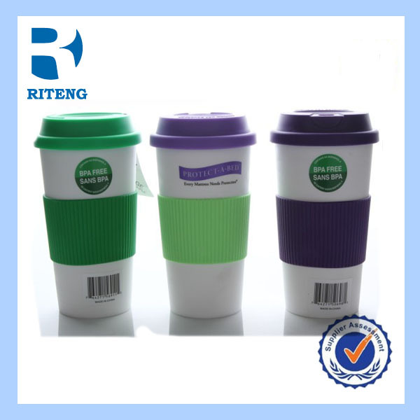 promotional customized logo mugs ceramic coffee plastic mug