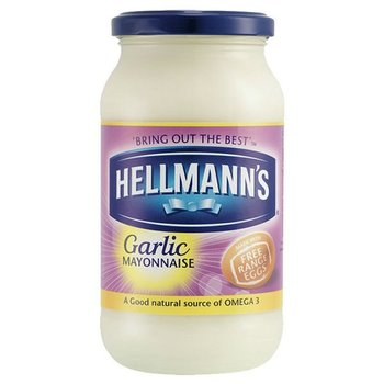 HELLMANNS Garlic Mayonnaise Jar