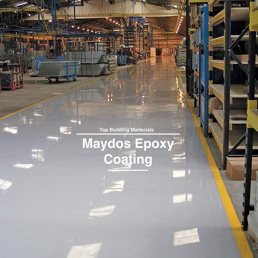 Maydos Car Parking Epoxy Resin Floor Paint Colors on Concrete Floor of Garage