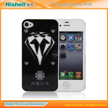 Flashing lights mobile phone case for iphone4