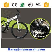 26 inch 48v 750W fat tyre Electric Bicycle with bafang center motor