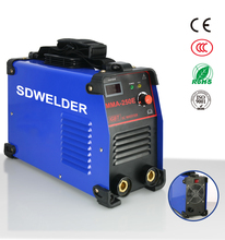 2016 new design manual IGBT MMA 250 inverter DC arc welding set
