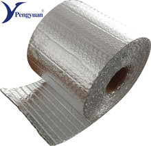 aluminium air bubble foil wrap roll prefab chicken farm reflective thermal roof insulation material