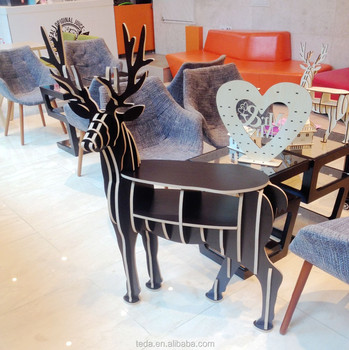 Luxury Living Room Reindeer bookshelf Home Furniture
