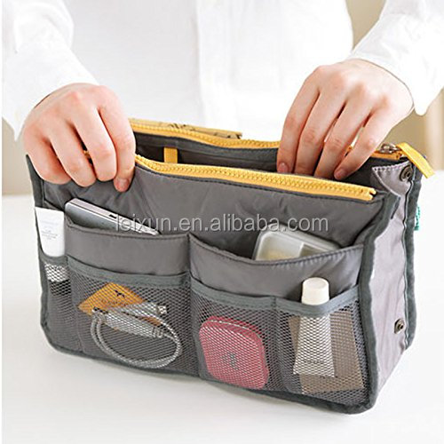 Multi-function Handbag Pouch Bag in Bag Organiser Insert Organizer Tidy Travel Cosmetic bag