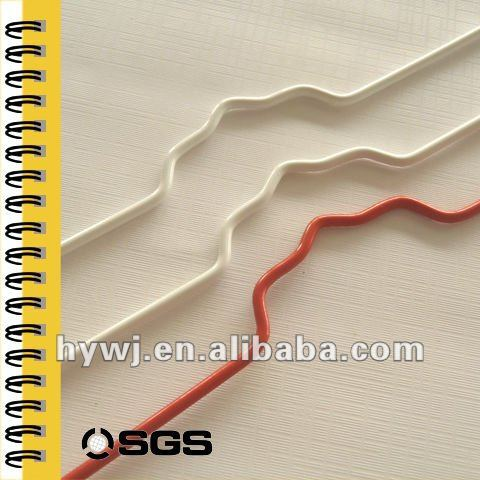 Packaging Organza Material nylon coated wire hanger calendar for binding calendar