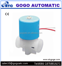 small micro plastic DC 12v water sampling valves