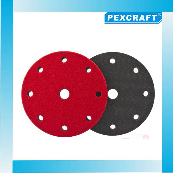 Alibaba china High Quality 3M 125mm velcro sanding discs