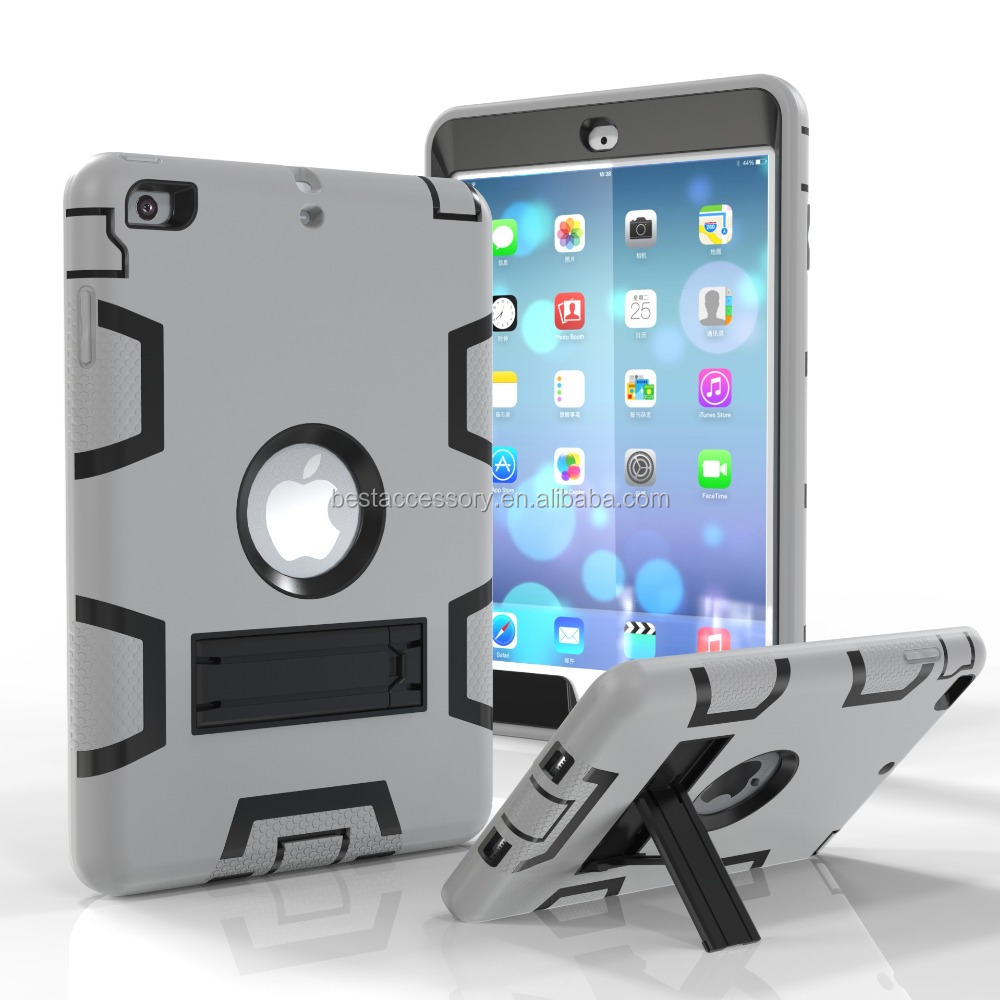 2016 shockproof stand hard cover case for ipad mini