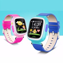 Children Smartwatches Tracker WIFI Touch Screen 1.44 Inch Pedometer Safe keeper Anti lost