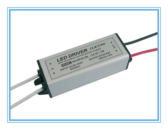 12-18x1w waterproof led driver
