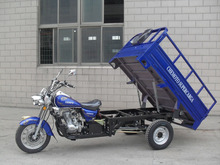200cc 250cc Three Wheels Big Cargo Box Motorcycle Tricycle for China sale
