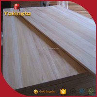 Paulownia wood price finger joint panels / Wood chip lumber / Particle board