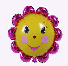 colorful sun flower heliem balloon for promotion
