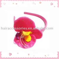 Phalaenopsis flower Headband for girls