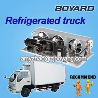cooling refrigeration unit for cargo van with boyard refrigeration parts mini horizontal cooling compressor