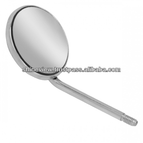 Dental mirrors, Rhodium Coated Front Surface
