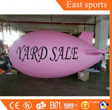 Advertising flying balloon/inflatable zeppelin helium for event