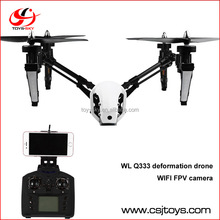 WLtoys Q333 2.4GHz 4CH 6 Axis Gyro WiFi FPV RC Quadcopter RTF Fixed-height Mode Aircraft With 0.3MP Camera