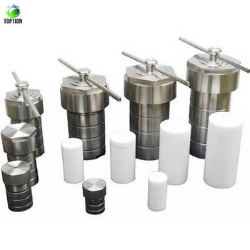 200ml Teflon Lined Hydrothermal Synthesis Reactor With Stainless Steel Shell Hydrothermal Autoclave Reactor
