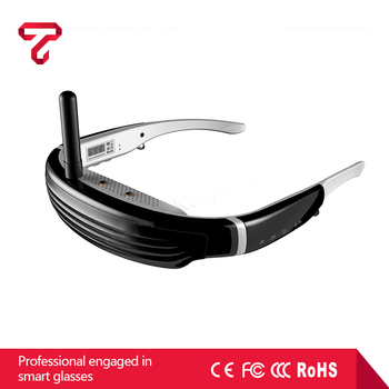 5.8G FPV video glasses Goggles Eyewear Glasses hd video glasses factory in China