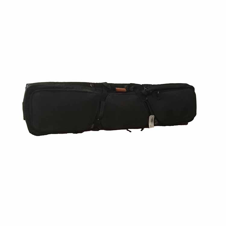 China manufacture black snowboard bag with wheels