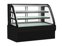 front open glass Bakery display cake refrigerated cabinet/ bakery chiller