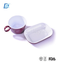 Airline Rotatable Set High Quality Wholesale Plastic China Disposable Tableware